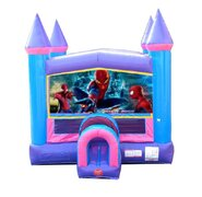 Spider Man Pink Bounce House