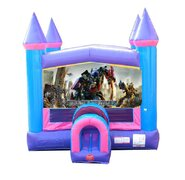 Transformers Pink Bounce House