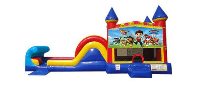 Paw Patrol Side Slide Combo