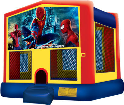 Spider Man Primary Color Bouncer