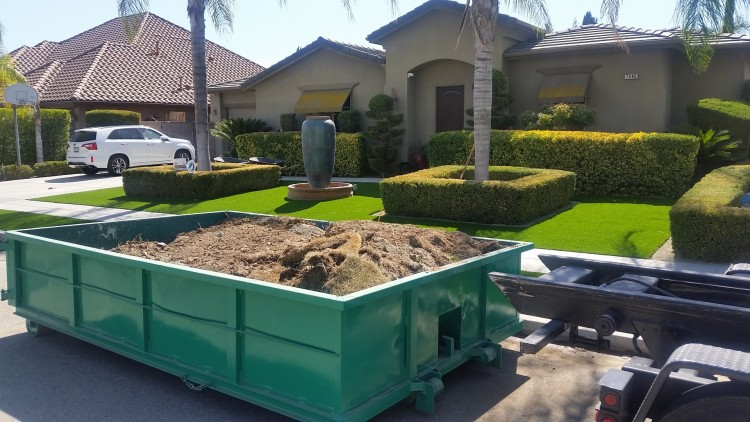 dumpster rental in visalia ca