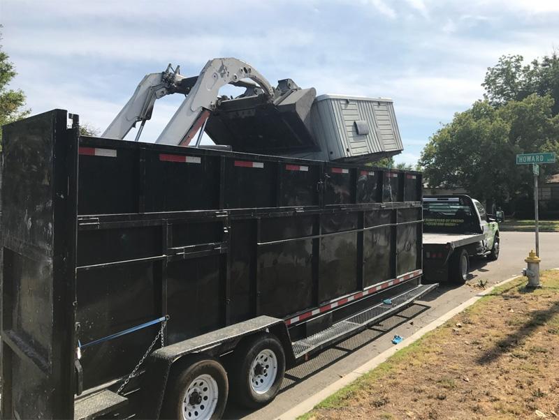 dumpster rental visalia ca