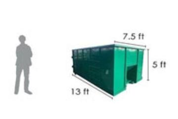 16 yard dumpster