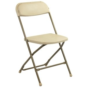Beige Folding Chairs