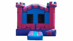 <font color=red><b>Pink Crown Castle<br></font><small>Best For Ages 2 - 15<font color=maroon> | 1 Outlet Needed </font><br><font color=blue>Actual Size 13 W x 13 L x 15 H</font></small>