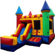 [2 in 1] Neutral Combo SlideBest For Ages 2+ | 1 Outlet NeededActual Size 22 L  x 13 W x 15 H