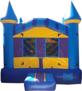 <font color=red><b>Blue Bounce House <br></font><small>Best For Ages 2 - 15<font color=maroon> | 1 Outlet Needed </font><br><font color=blue>Actual Size 13 W x 13 L x 15 H</font></small>