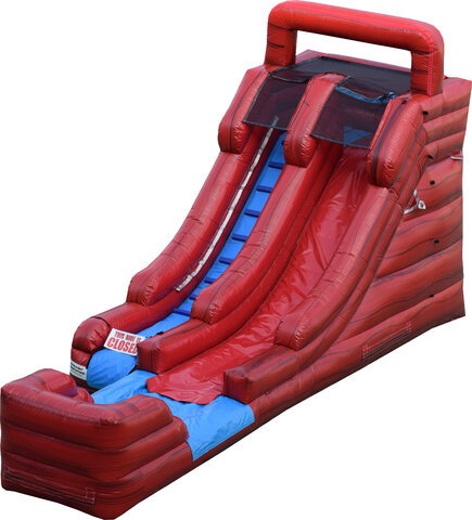 16 FT WATER SLIDE RED FLAME