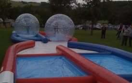 ZORB BALLS WITH TRACK