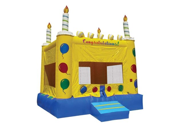 BIRTHDAY CAKE BOUNCE HOUSE PACKAGE DEAL