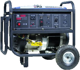 GENERATOR 8750 WATTS CAN RUN 4 JUMPERS