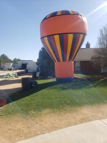 PROMOTIONAL BALLOON 20 FT TALL