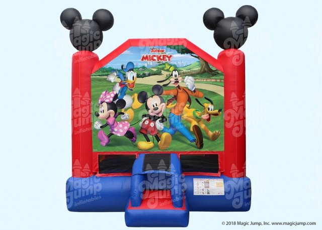 MICKY AND MINNIE MOUSE BOUNCE HOUSE