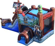 PIRATE SHIP COMBO WITH DRY SLIDE