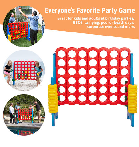 Giant Connect Four Game (Primary)