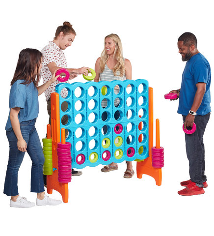 Giant Connect Four Game (Vibrant)