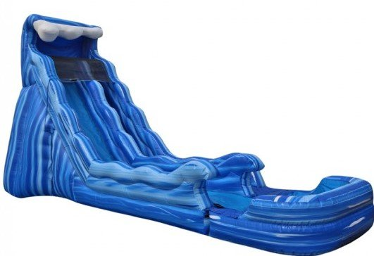 H20 water slide with Pool