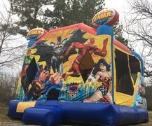 Justice League Water slide Combo