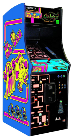 Galaga/Ms Pac-Man