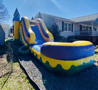 "Combo Slide and Bounce ""Fiesta"" 24'x13'"
