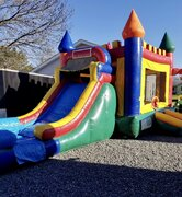 "Combo Slide and Bounce ""Castle"" 20'L x 15'W"