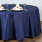 "Tablecloth Round 132"" (8-10 chairs)"