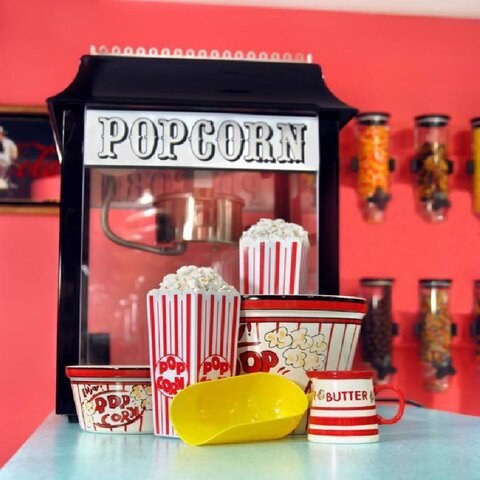 Popcorn Machine with 30 servings