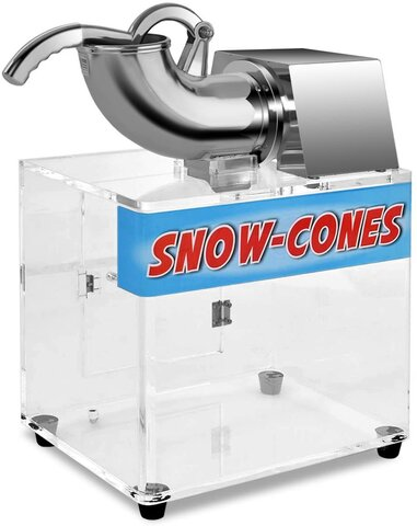 Sno-Cone Machine with 30 Servings