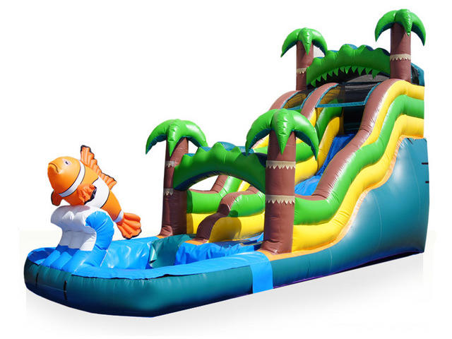 18ft Tropical Waterslide
