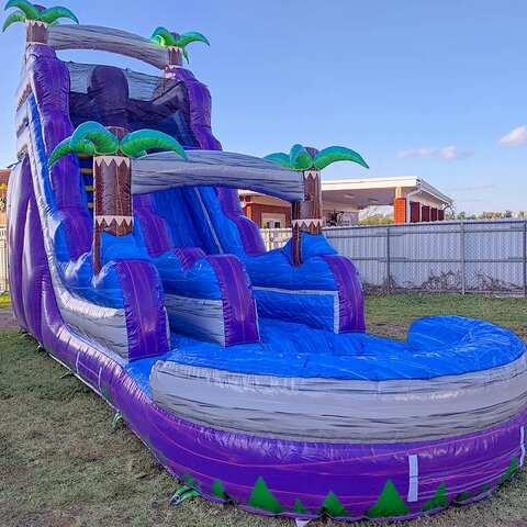 18ft Purple Crush Waterslide