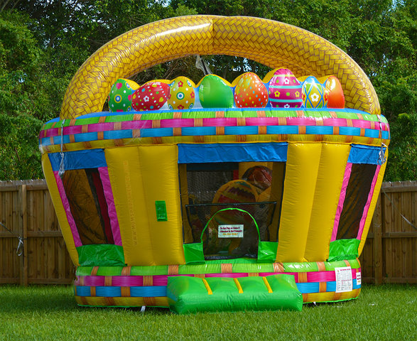 Easter Basket Bounce House