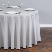 Round Tablecloth - Silver - P