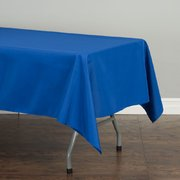 60 x 102 Rectangular Polyester Tablecloth Royal Blue