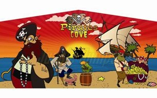 Pirate Theme Art Panel.