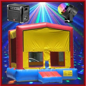 The Disco Bounce House Package