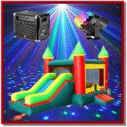 King Disco Bounce Castle Package