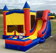 The Excalibur Combo-Wet Bounce Castle