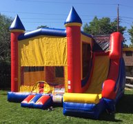 The Excalibur Combo Bounce Castle