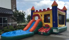 The Queen Combo - Wet Bounce Castle