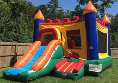 The Queen Combo Bounce Castle
