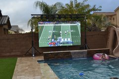 "160"" LED Screen"