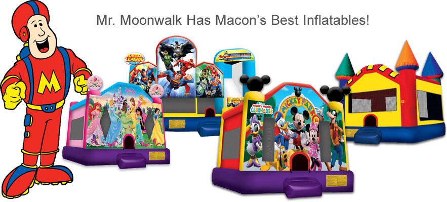 Mr. Moowalk Bounce Rentals Macon