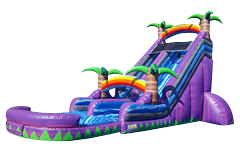 18 Ft Purple Crush Water Slide