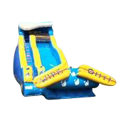 19 Ft Wipeout Slide