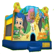 Bubble Guppies Bounce House