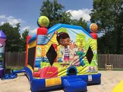 Doc McStuffins Bounce House