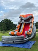 18 Ft Lava Wave Single Lane Slide