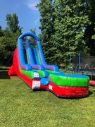 18 Ft Wacky Splash Water Slide
