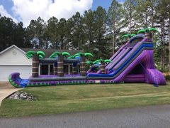 24Ft Paradise Water Slide with Slip N Slide