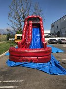 19 Ft Big Red Single Lane Slide